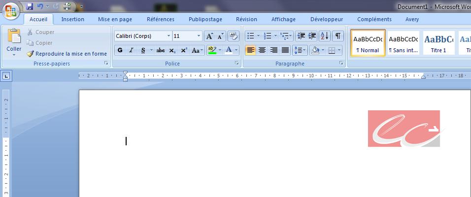 word 2007  u2013 2010   num u00e9ro de pages dans le logo de votre cabinet d u2019expertise comptable
