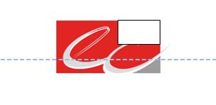 Zone texte intégré dans le logo