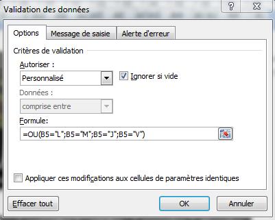 Calendrier perpétuel sur Excel (2/5)